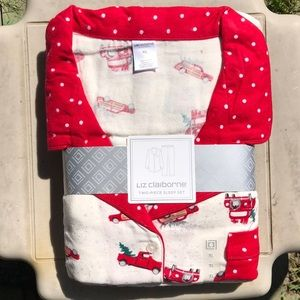 NWT Liz Claiborne 2 piece sleep set